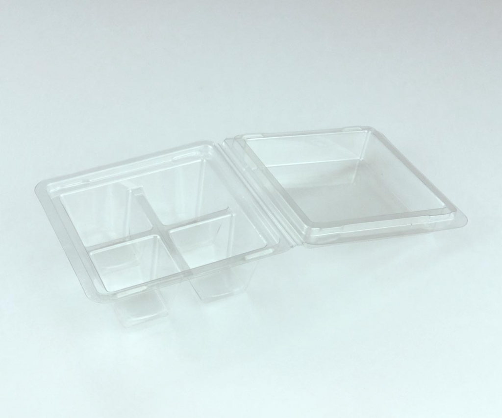 Vaschette  plasticaper alimenti